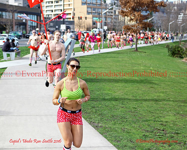 2016 Cupid's Undie Run. Seattles ( I'm with Cupid - Run )