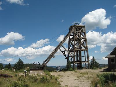 American Eagle Mine, Cripple Creek, Colorado, Aug 24