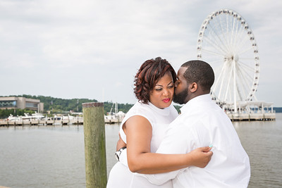 Sandra and Jhavon's Engagement Photos