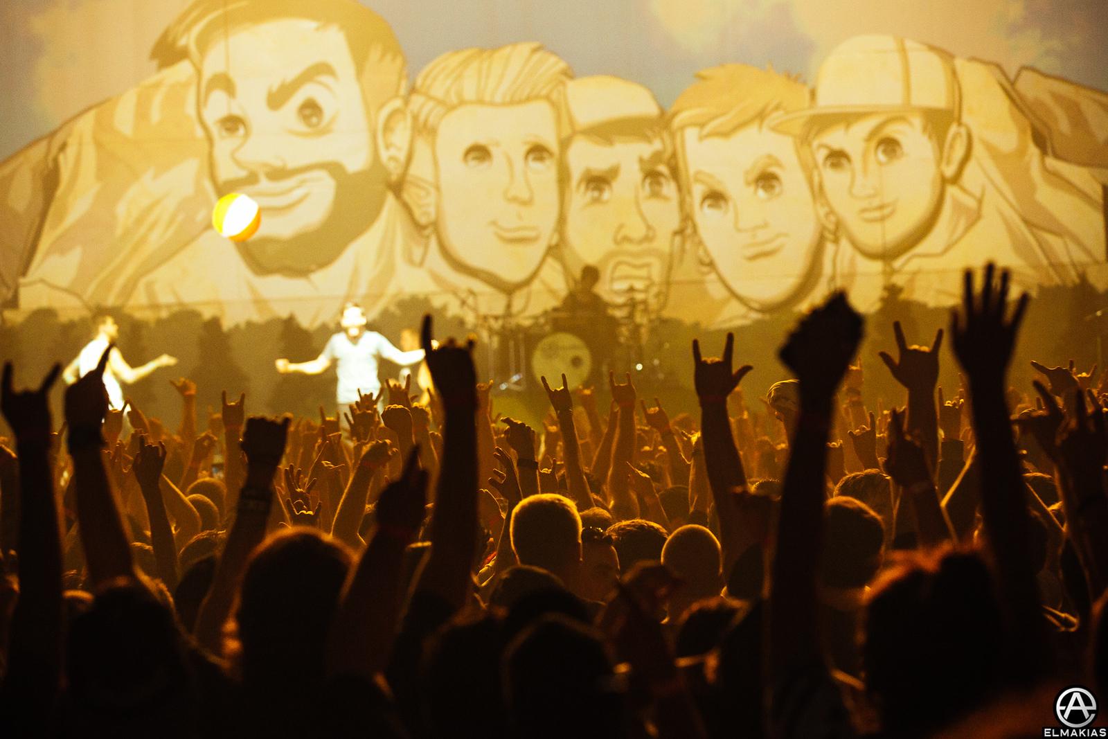 A Day To Remember on the Parks and Devastation Tour