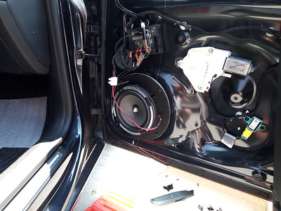 2012 Audi A5 (B&O Stereo) Front Door Speaker Installation