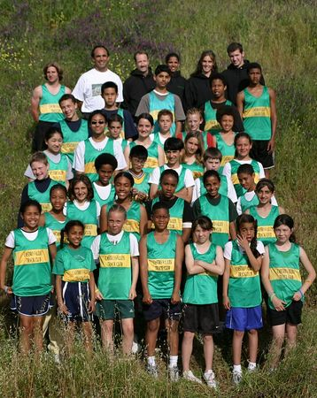 Castro Valley Track Club Team Photos 2005