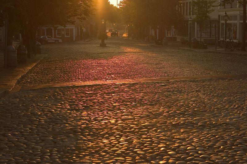 Nantucket City Streets @ sunrise