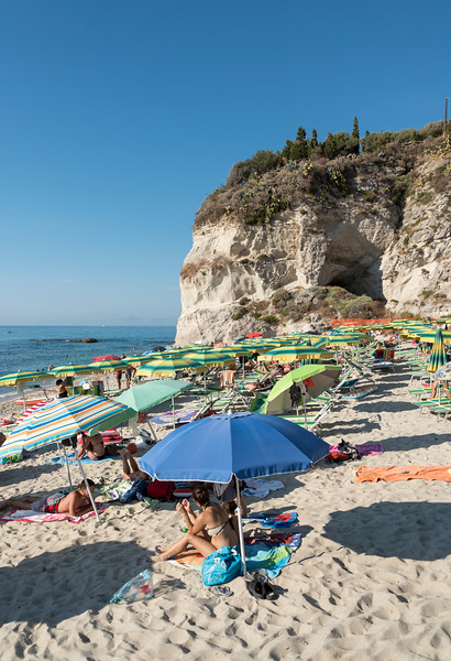 Lido Isola Bella Beach, Tropea, Calabria, Italy