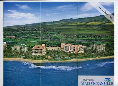Marriott's Maui Ocean Club - Resort Room Plans