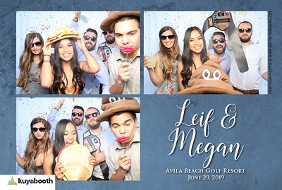 Megn and Leif - Photo Booth
