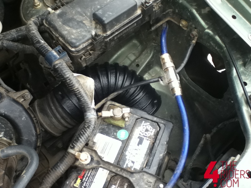 honda rallement airbox modification