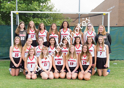 Manual Girls Field Hockey Team and Individuals