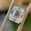 3.10ct Vintage Emerald Cut Diamond, GIA H VS1 29