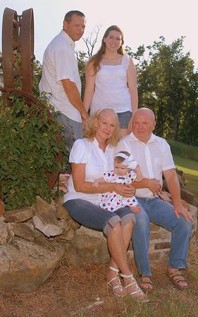 Extended Hillsberry Family