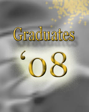 Graduates 2008. Thank you!