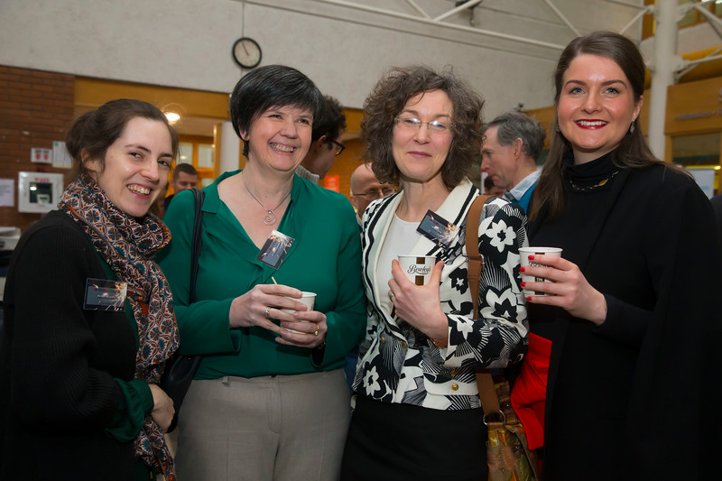 22/02/2018. Research Sparks in Waterford Institute of Technology. Pictured are Kate McCarthy, Felicity Kelliher, Una Kealy and Aisling O'Neill. Picture: Patrick Browne