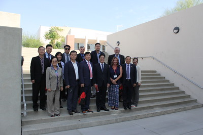 2017: Korean Delegation Visits Bakersfield College
