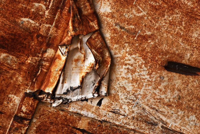 Rust in the parking garage