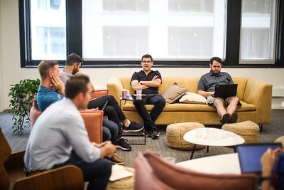 Candids - Sales Team Meeting