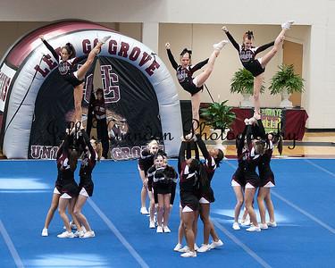 UGMS Cheer comp 10-27-12