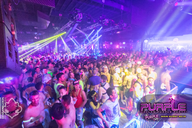 THE PURPLE PARTY   Main Event 2019