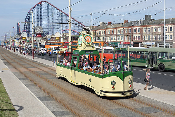 22nd June 2014: Totally Transport Blackpool