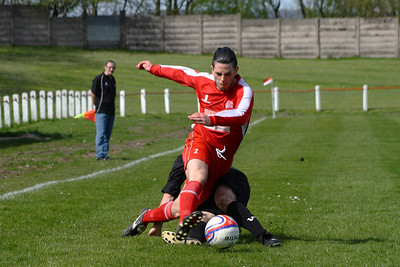 Johnstone Burgh 1 Bellshill Athletic 1, Stagecoach West of Scotland League Central District First Division, 19th April 2014