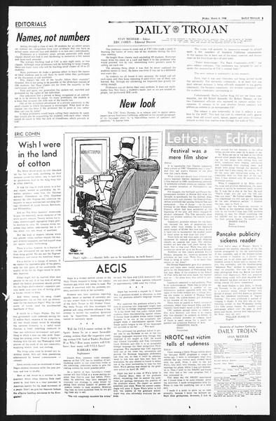 Daily Trojan, Vol. 59, No. 86, March 08, 1968