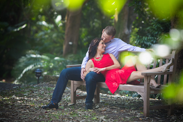 Jon and Jamie, Fairchild Tropical Botanical Garden