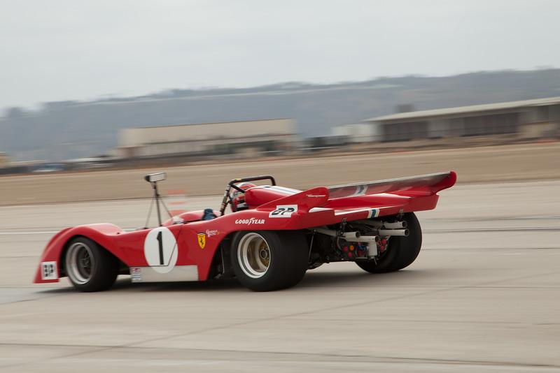 John Goodman's 1972 Ferrari 312P SPL.