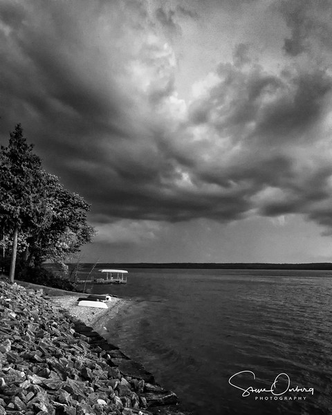 Storm over Green Bay