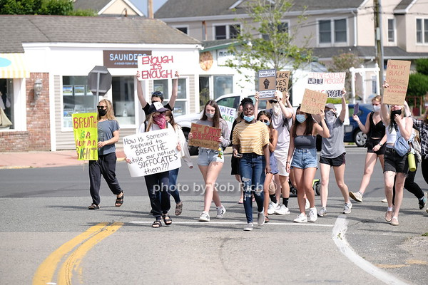 Black Lives Matter Protest & March in Montauk on 6-19-20. photo by Rob Rich/SocietyAllure.com ©2020 robrich101@gmail.com 516-676-3939