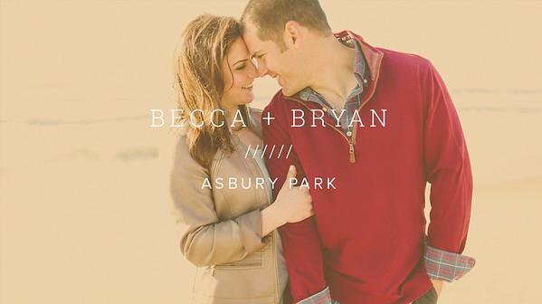 BECCA + BRYAN ////// ASBURY PARK