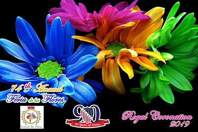74th Annual Feria del las Flores Royal Coronation prints