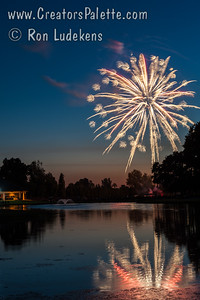 2016 3rd of July Fireworks - Visalia Country Club