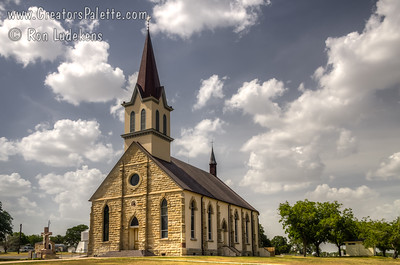 St. Mary's Church of the Assumption - Praha (Flatonia), Texas