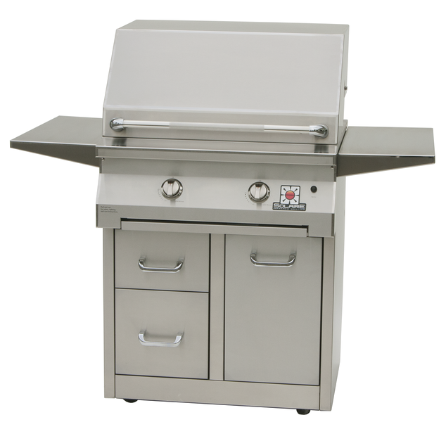 """30"""" Standard Solaire Infrared Grill on Premium Cart, SOL-IRBQ-30CXIR"""