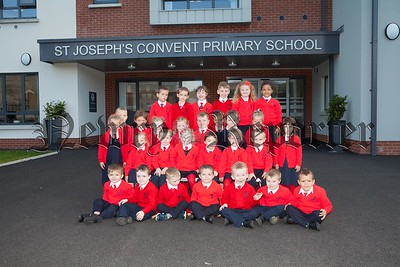 St Joseph's Convent PS Newry Primary 1 pupils 2016. R1638006