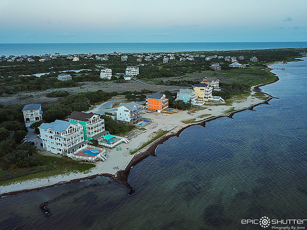 July 17, 2021 Drone Photography of Kinnakeet Shores, Avon,  NC