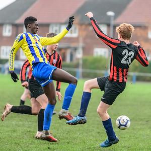 Beeston Juniors v Stanningley Albion U17s