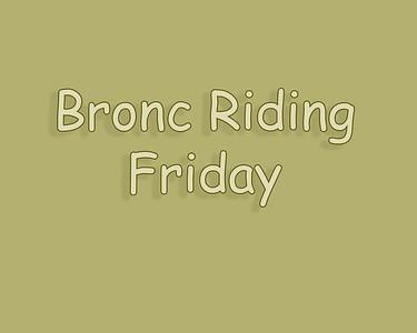 Bow Island 2018 Bronc Riding Friday