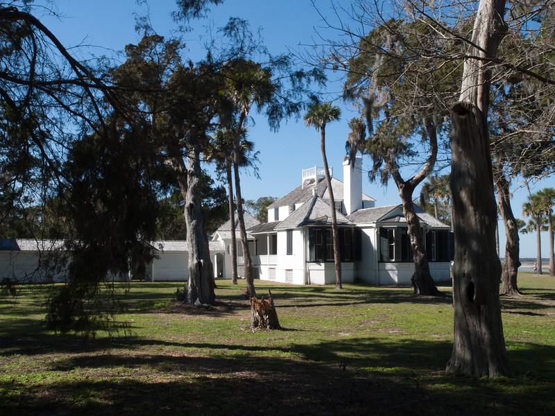Kingsley Plantation house