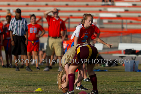 Boone Varsity Flag Football - 2011 #9