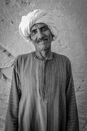 Egypt Series - People_BW