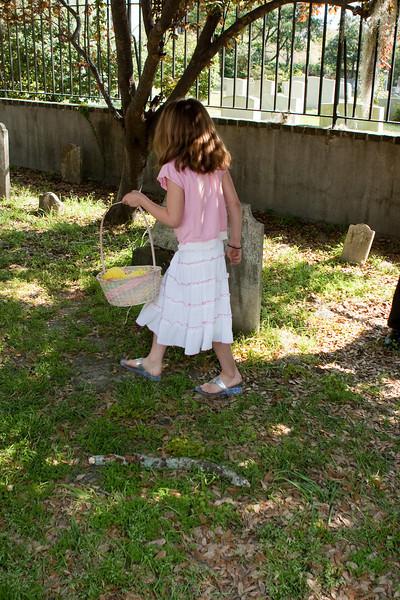 Churchyard Easter Egg hunt.