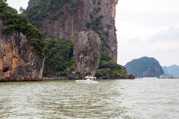 James Bond island, Thailand - January, 2018