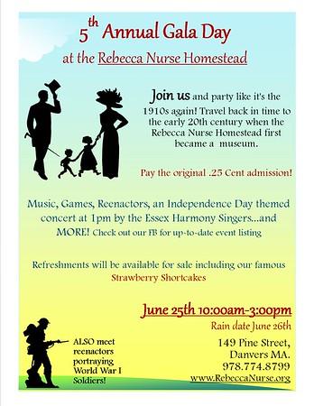 Rebecca Nurse Homestead 06/25/2016