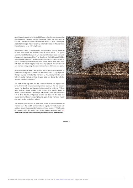 Selvedge Magazine - issue # 68 - 2015