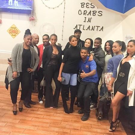 Claudia Jordan's Farewell Gathering - Benzino Crab Trap - October 19, 2015 in Atlanta, GA