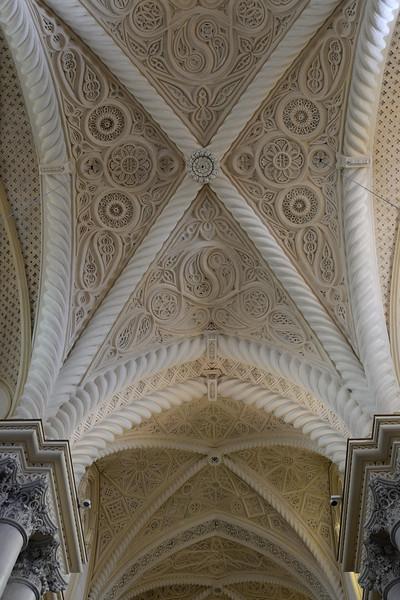 Erice Duomo (Interior Ceiling Detail #2)--Erice, Sicily