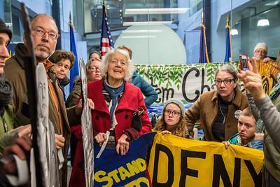 #DayAgainstDenial at Senator Al Franken's office 1/9/17