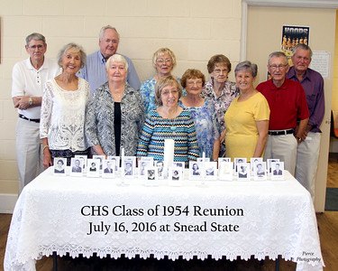 Crossville Class of 1954 Reunion 2016