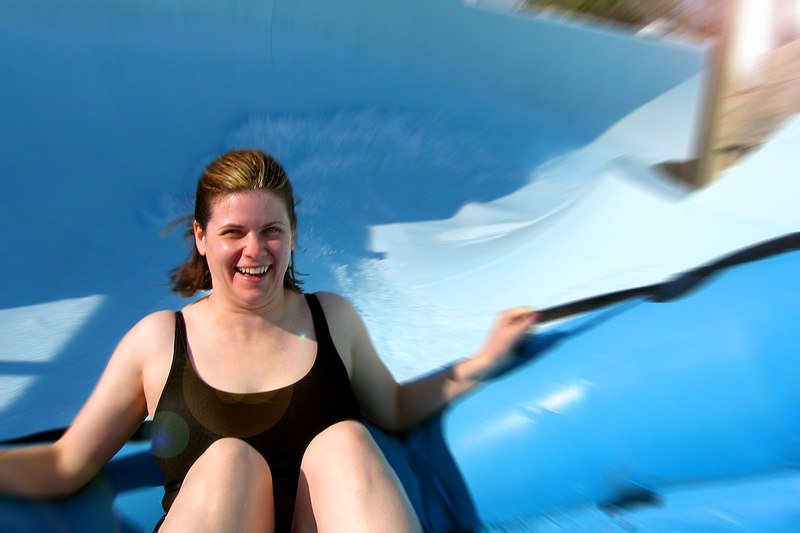 Water ride at Blizzrd Beach in Disney World.