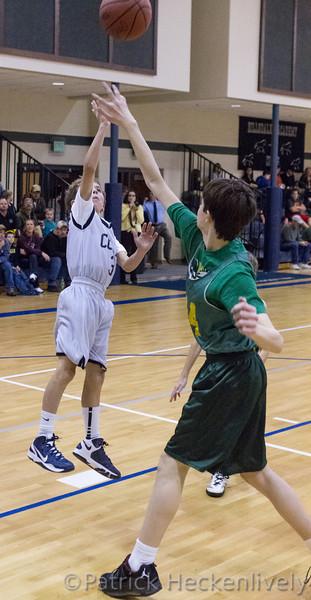 2012-11-26 Hillsdale Academy Boy's Junior High Basketball vs. North Adams